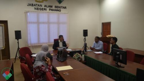 Bacaan Ikrar Akujanji Perkhidmatan Awam Kakitangan Lantikan Baharu Jabatan Alam Sekitar Jas Negeri Pahang Enviro Museum